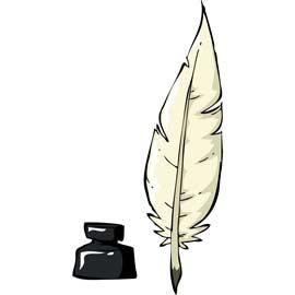Ecrire à la plume