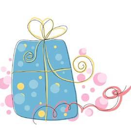 Les cadeaux suspendus