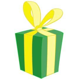 Les enfants fabriquent des petits cadeaux à offrir ….