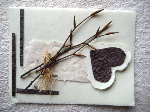 Créer Des Cartes De Fête Des Mères Dans Un Style Nature
