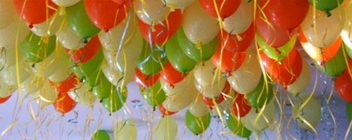 D coration d 39 anniversaire d 39 enfant anniversaire enfant - Faire tenir des ballons en l air sans helium ...