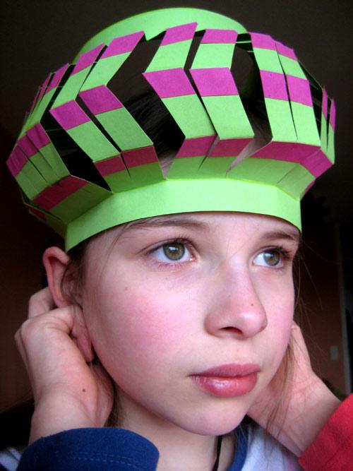 couronne carnaval déguisement enfant