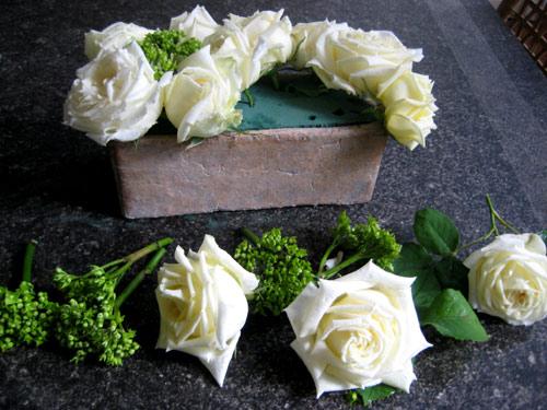 montage_fleurs pour création bouquet