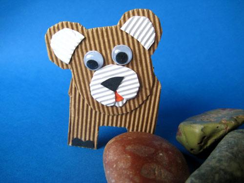Bien-aimé Créer des personnages en carton ondulé | Anniversaire enfant HG14
