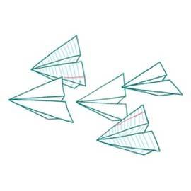 Fabriquer un planeur de papier