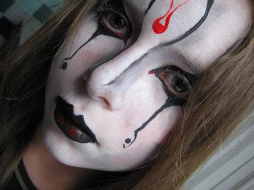 Maquillage gothique anniversaire enfant - Maquillage chapelier fou ...