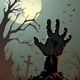 Un jeu de piste sur le thème d'Halloween