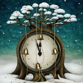 horloge-noel