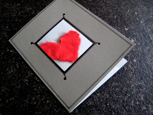 Coeur pour mariage bricolage - Carte st valentin a faire soi meme ...