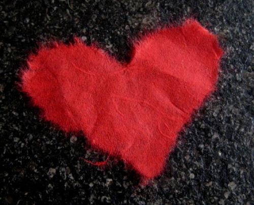 Carte c ur de saint valentin faire soi m me - Carte st valentin a faire soi meme ...