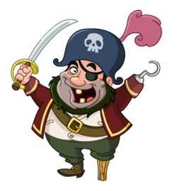 Anniversaire des petits pirates