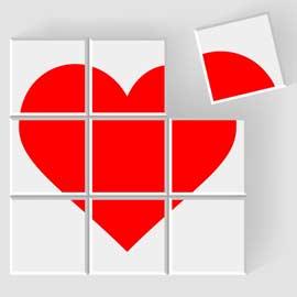 Un coeur d'amour pour la St Valentin