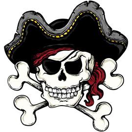 Jeu de corsaire et de pirate
