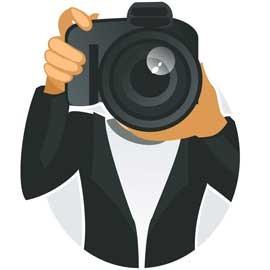 Chasse au trésor avec appareil photo numérique