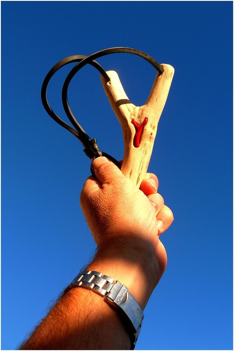 Comment constuire un lance pierre anniversaire enfant - Jeux de lance pierre ...