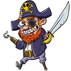 jeu aniversaire ambiance pirate