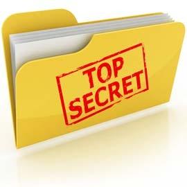 Top secret pour chasses au trésor et jeux de piste