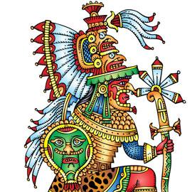 Déguisement de princesse maya
