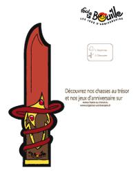 couteau à imprimer
