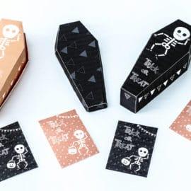 Décorations Halloween à imprimer